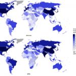 世界の名目GDP:国別ランキング1位米国、2位中国、3位日本、4位ドイツ、5位フランス