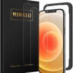 iPhone12:人気のお勧めの強化ガラス液晶保護フィルム(NIMASO)