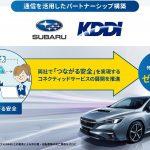 KDDI・SUBARU:コネクティッドサービスの展開を推進(安心・安全なクルマづくり)