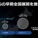 ソフトバンク:LTE周波数帯の700MHz・1.7GHz・3.4GHz帯を利用した5Gを順次提供