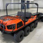 KDDI:災害対策用「水陸両用車・四輪バギー」を導入し、自然災害の迅速な通信復旧へ