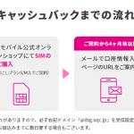 ドコモ・ahamoからUQモバイルに乗り換えるMNP転出手順:キャッシュバック1万円