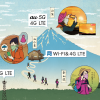 KDDI au:富士山頂の5Gエリア化を7月上旬開始、5G・4G LTE・Free Wi-Fiの提供